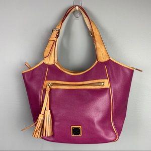 Dooney Bourke Bag Purse Berry Leather